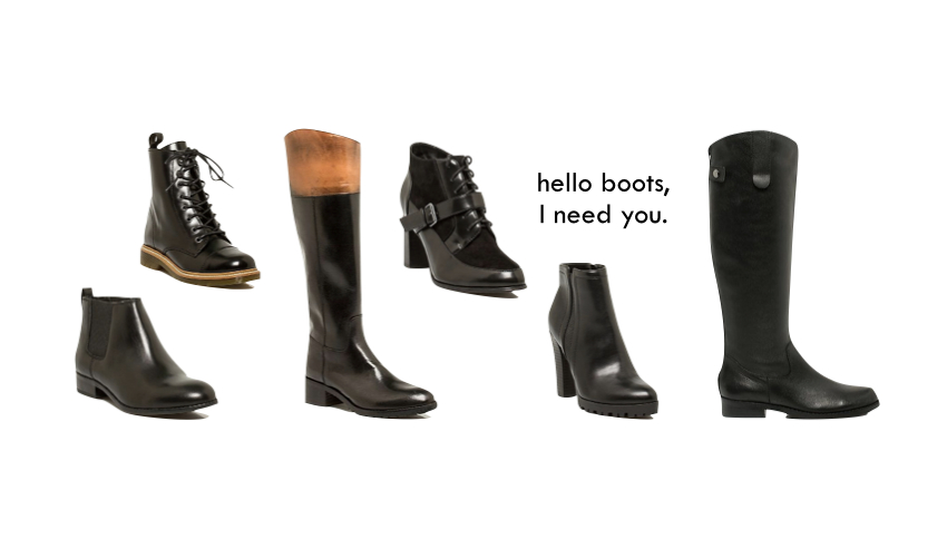 Le Chateau Boots Fall 2014
