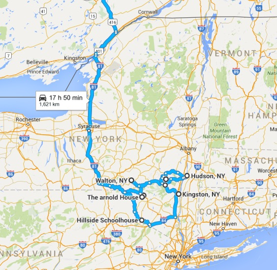 Ottawa to Hudson Valley Road Trip